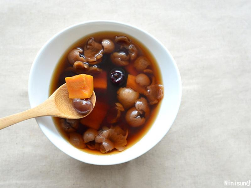 紅棗桂圓地瓜湯