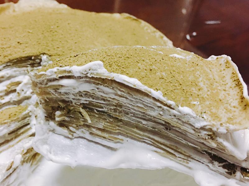 抹茶千層蛋糕❤️