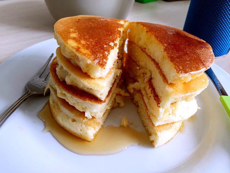 [甜食]鬆軟厚鬆餅 pancake