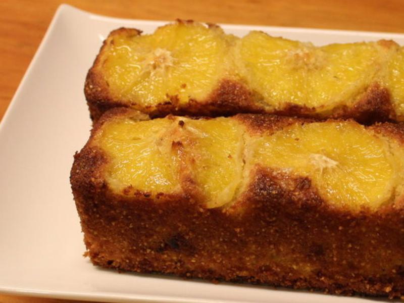 桔子玉米蛋糕