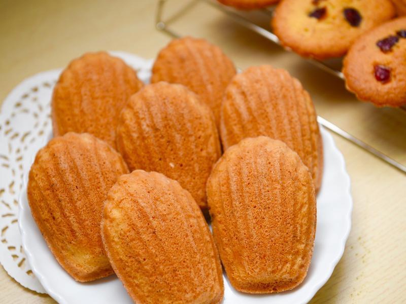 原味瑪德蓮貝殼蛋糕