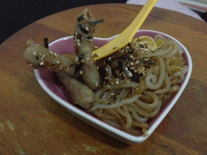 桂冠燕餃蒟蒻麵