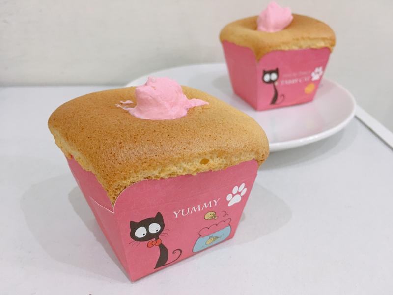 柳橙蜂蜜杯子蛋糕(戚風)