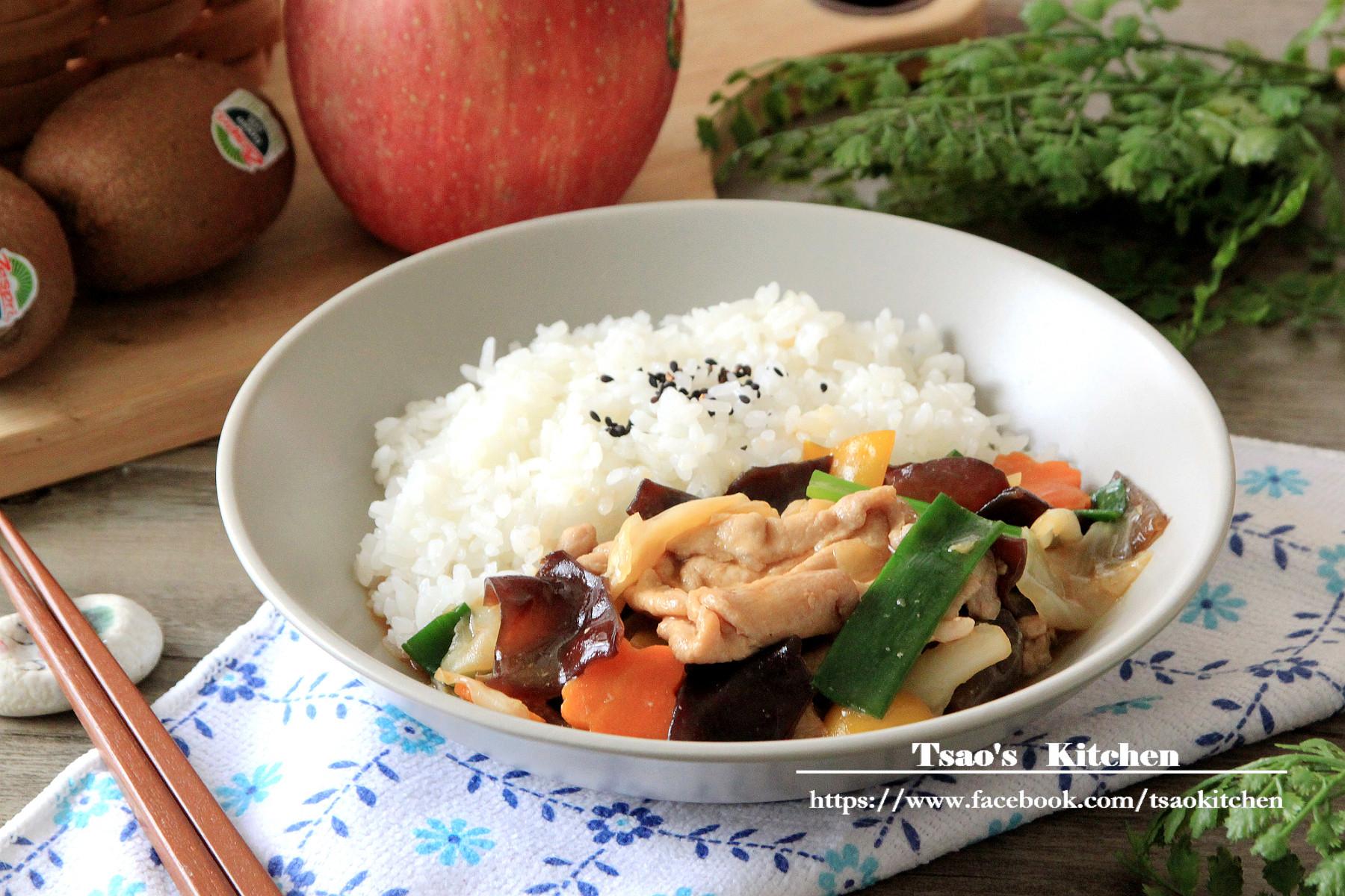 家常時蔬豬肉燴飯