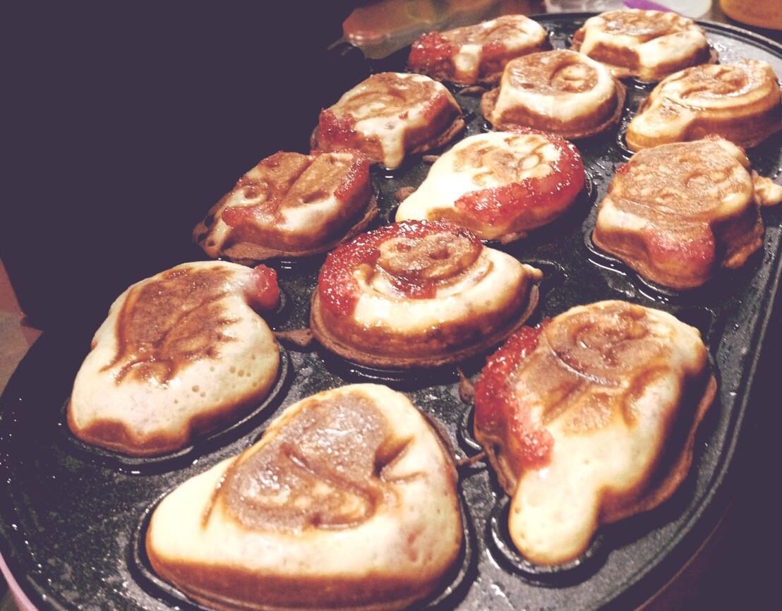 脆皮草莓雞蛋糕