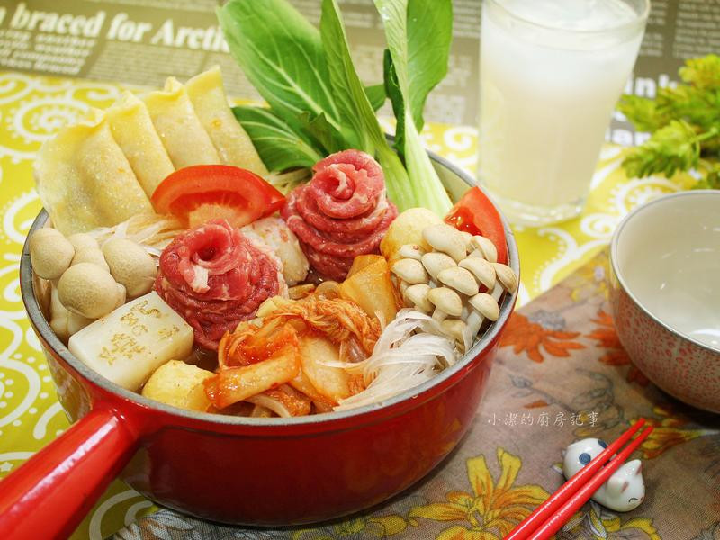 韓式泡菜牛肉粉絲鍋