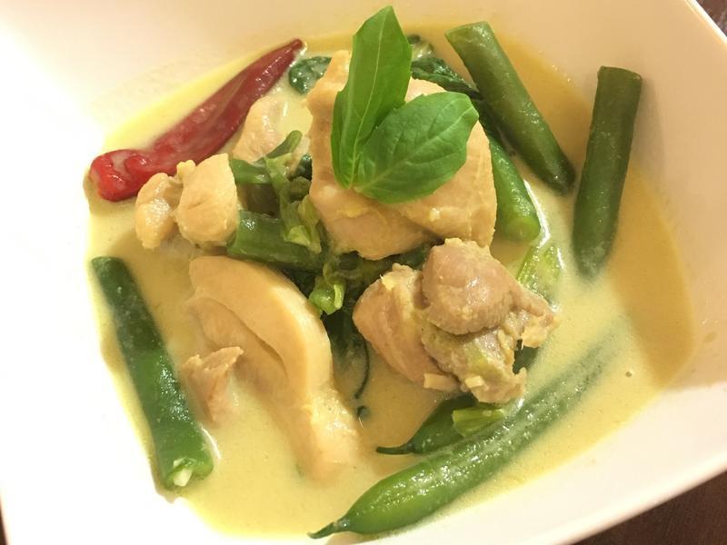 泰式綠咖喱雞green curry