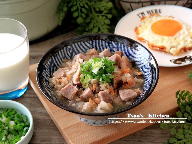 芋頭穀米粥