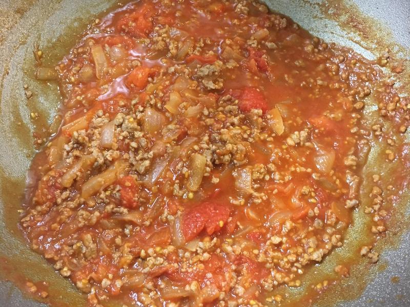 蕃茄肉燥義大利麵