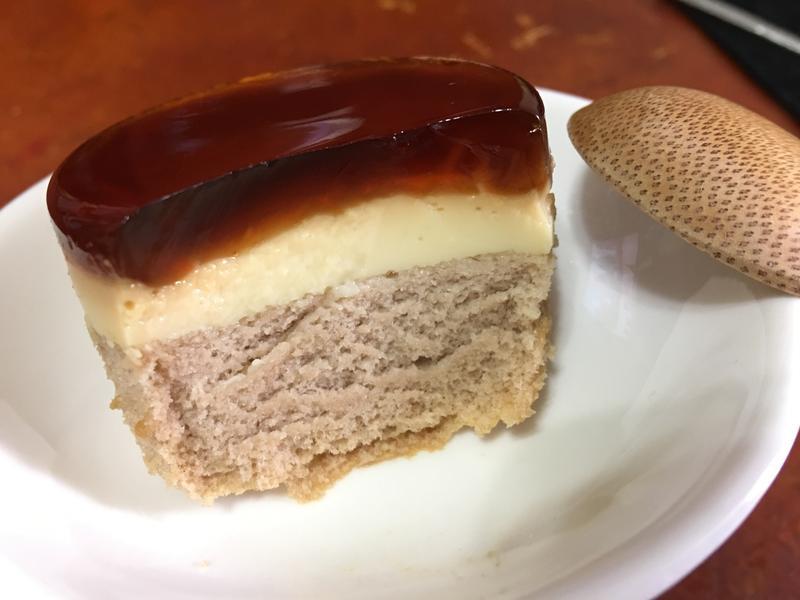 青檸 焦糖布丁蛋糕