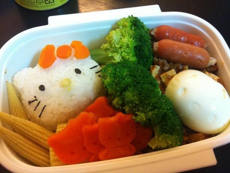 「親子食堂」Hello Kitty 無油料理便當