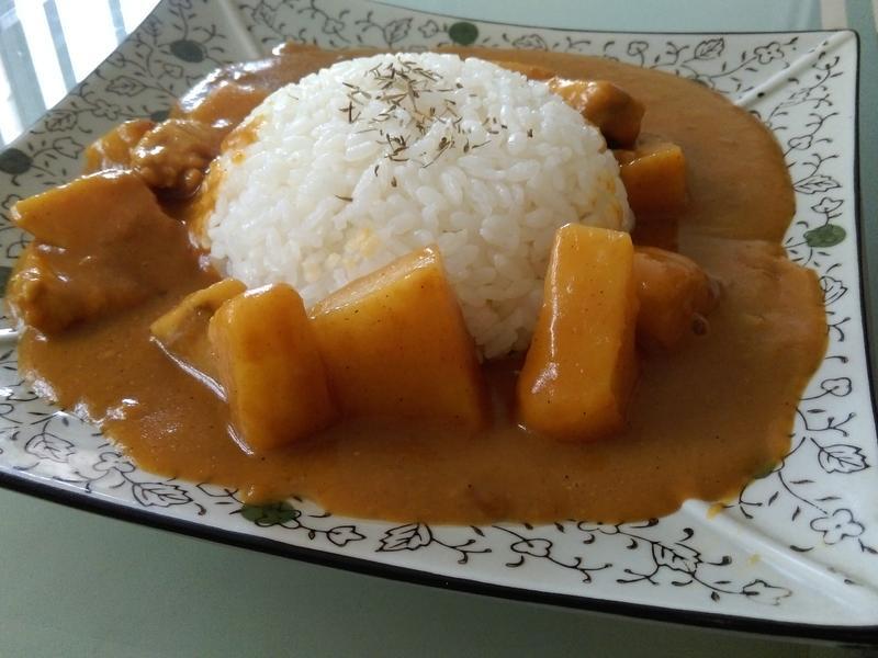 香濃日式咖哩飯