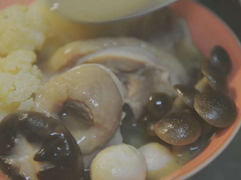 清甜可口 健康蔬食版 麻油雞湯