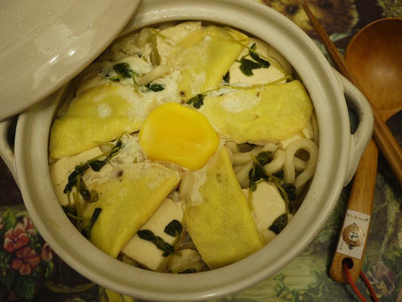 太陽蛋餃鍋燒麵