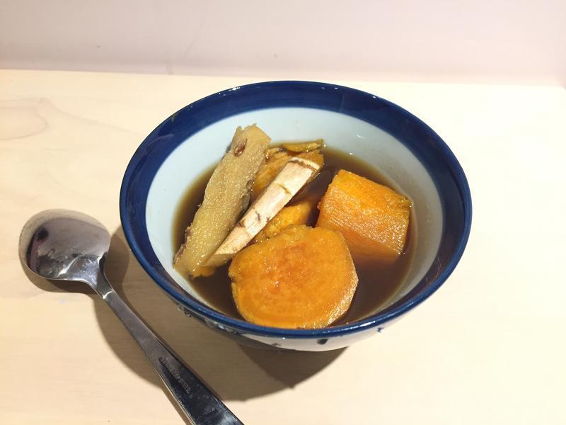 暖暖黑糖薑汁地瓜湯