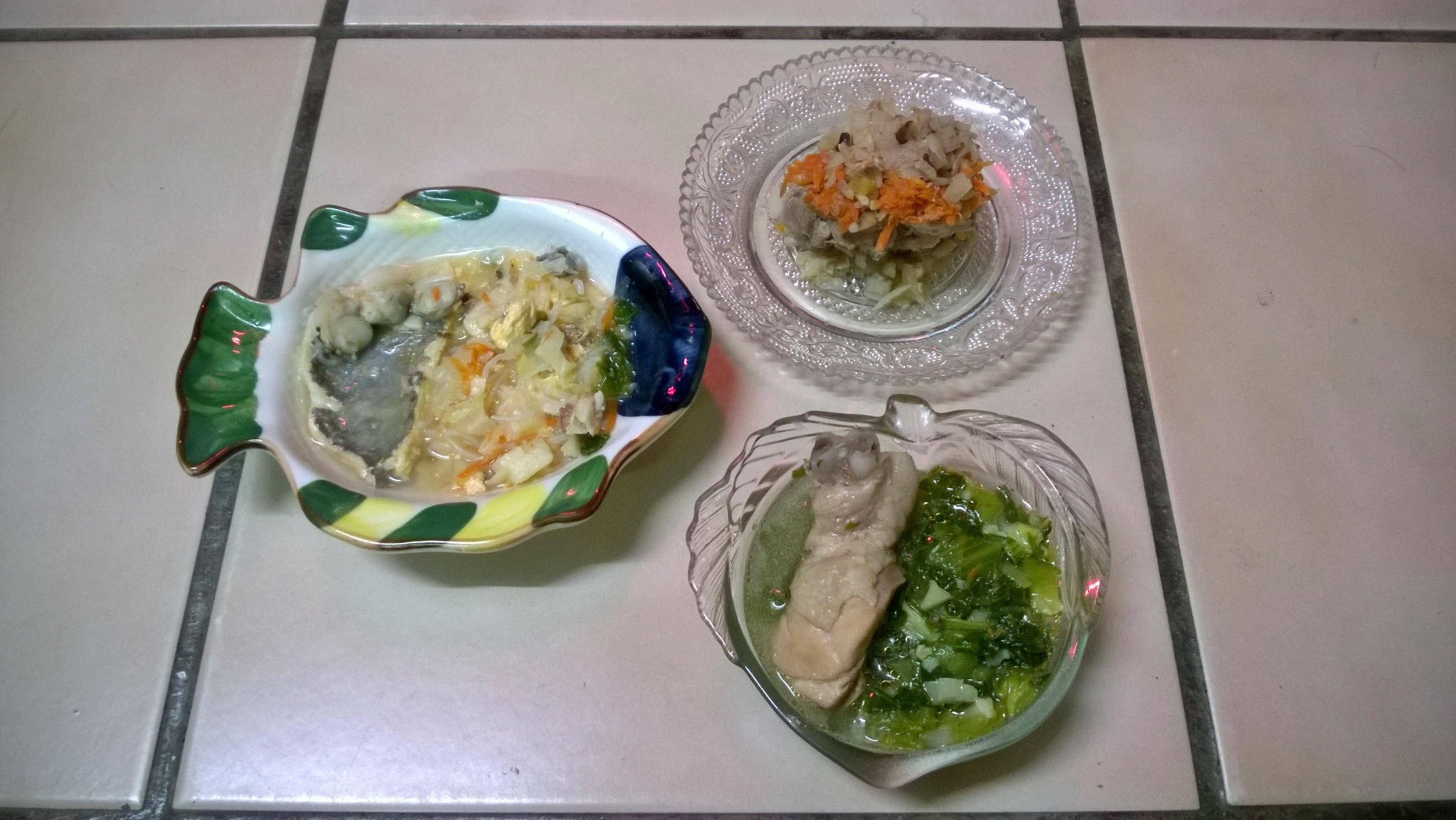 鮮食🐾海鮮蒟蒻湯 牛蒡飯 長年菜雞湯