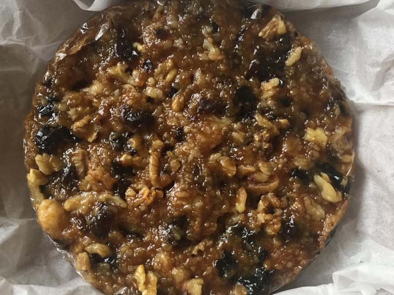 可直接食用的桂圓核桃年糕