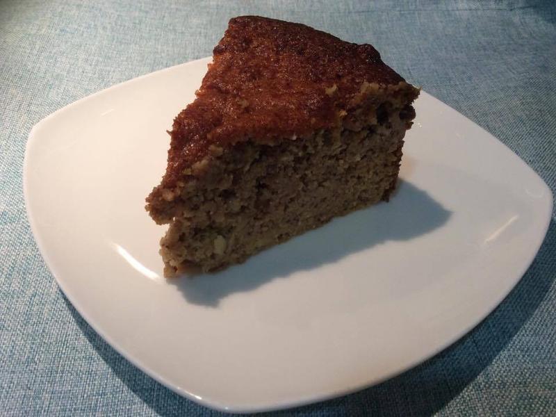 無麩質洋梨蛋糕