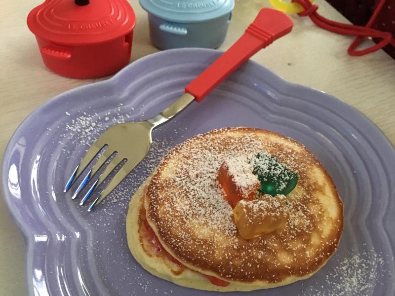 銅鑼燒愛心早餐