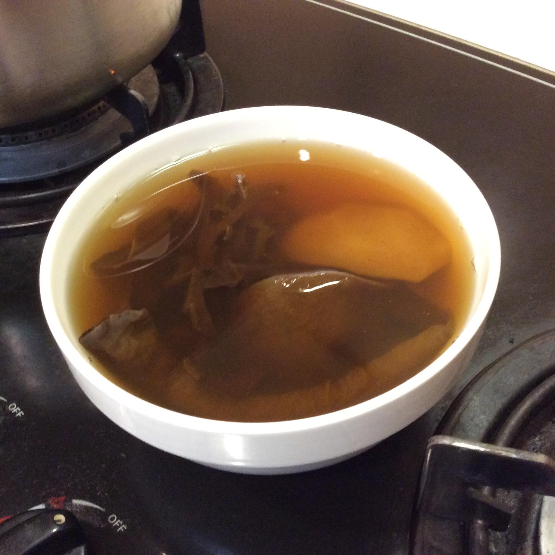 黑木耳蘋果黃豆湯