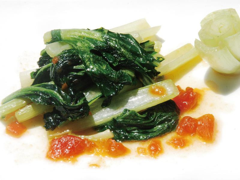 果醬料理-木瓜醬炒青菜