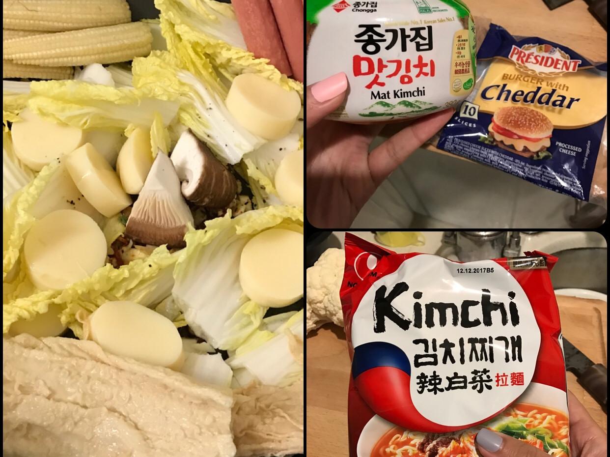 韓式泡菜起司部隊鍋-備料簡單第一次就成功
