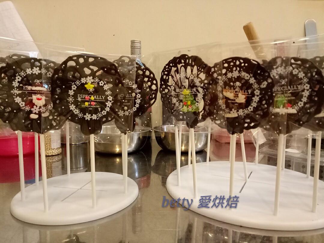 巧克力造型棒棒糖