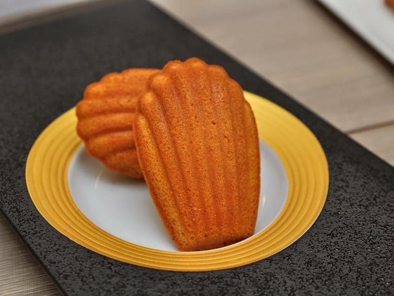 法式檸檬瑪德蕾蛋糕