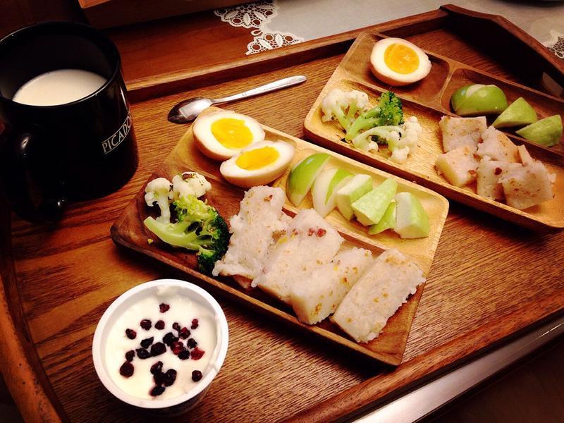 健康早餐盤