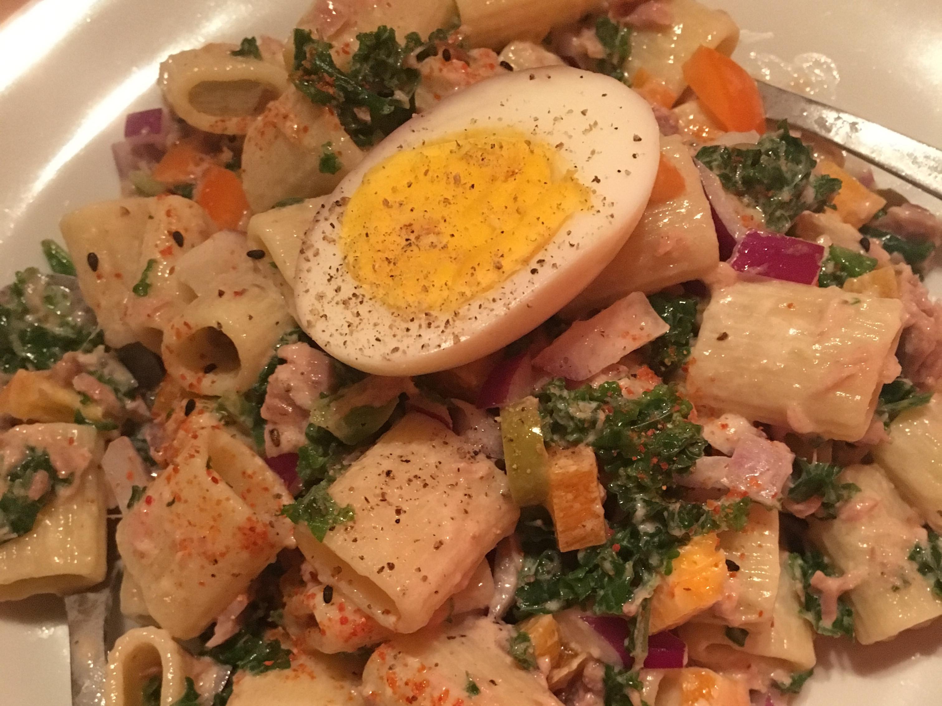 15分鍾完成《義大利麵鮪魚沙拉》