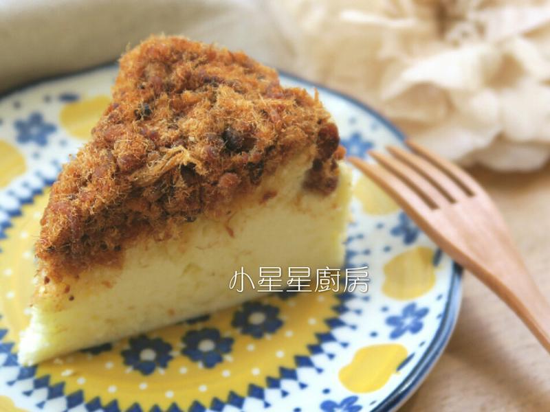 肉鬆棉花蛋糕