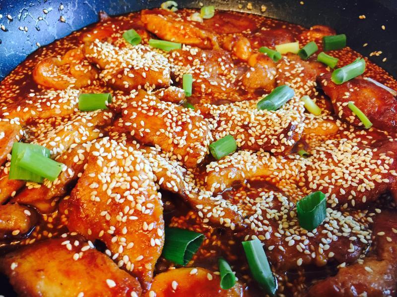 超下飯:韓式辣炒雞塊