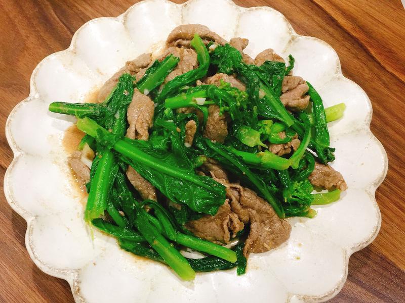 沙茶芥蘭炒牛肉