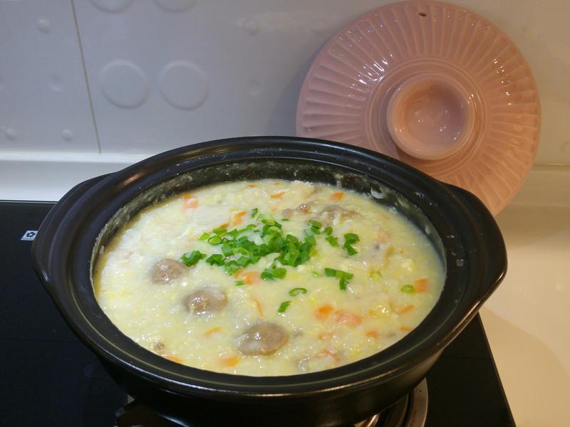 牛肉貢丸粥