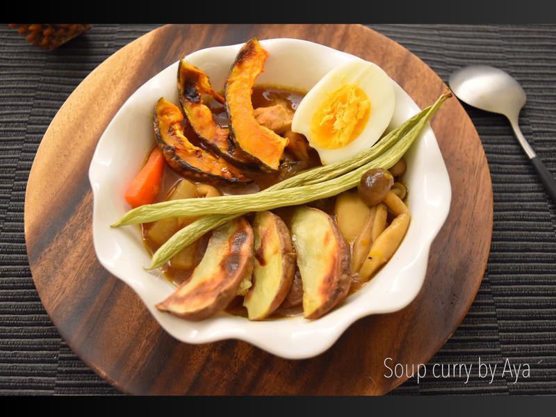 暖心暖胃的雞肉蔬菜湯咖哩