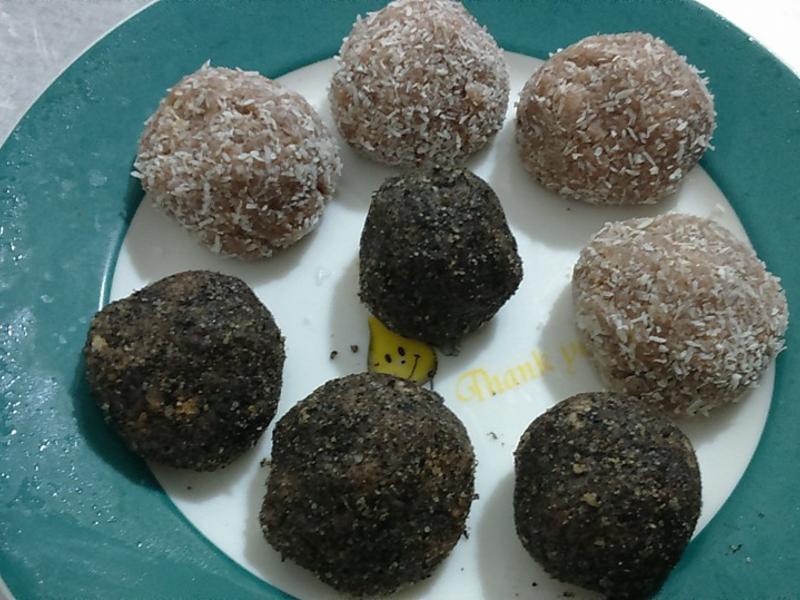 巧克力黑白球