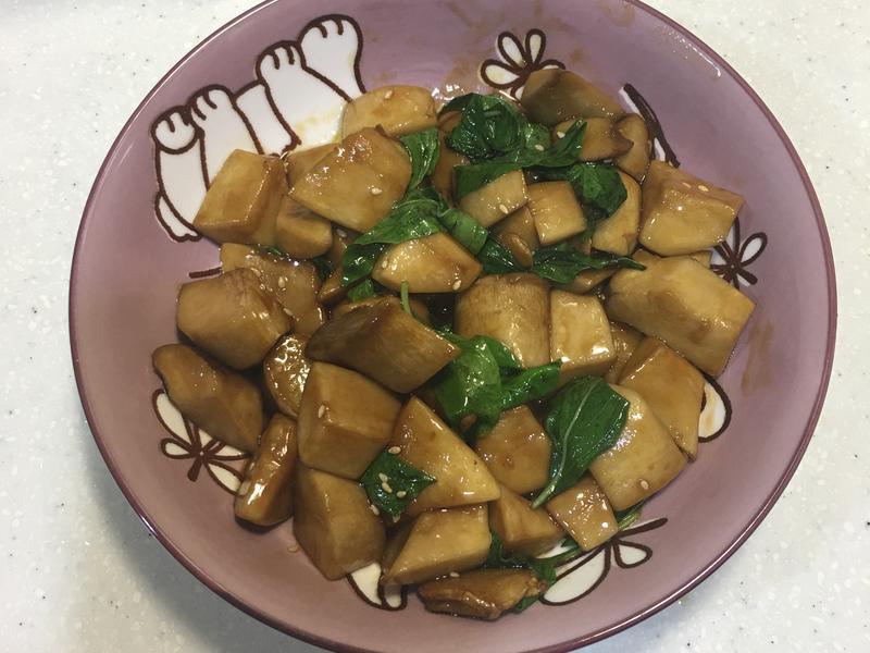 麻油杏鮑菇