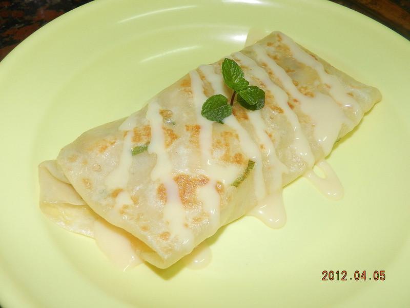 ㄚ曼達的廚房~香蕉煉乳煎餅