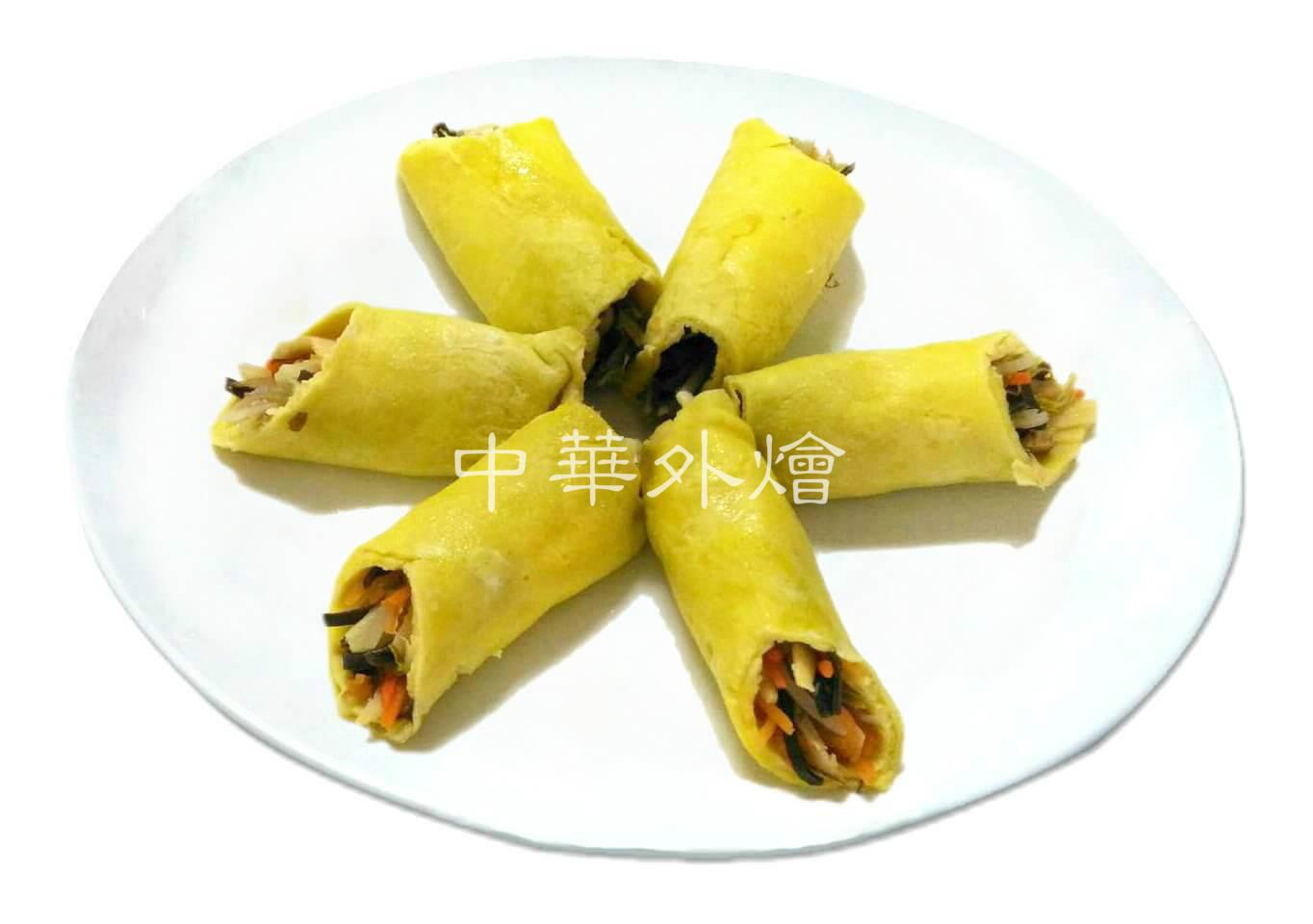 豆芽菜蛋皮捲【中餐乙級料理】