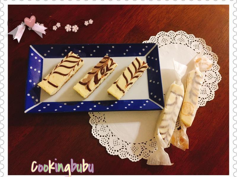 《Cookingbubu》起士條~花紋版