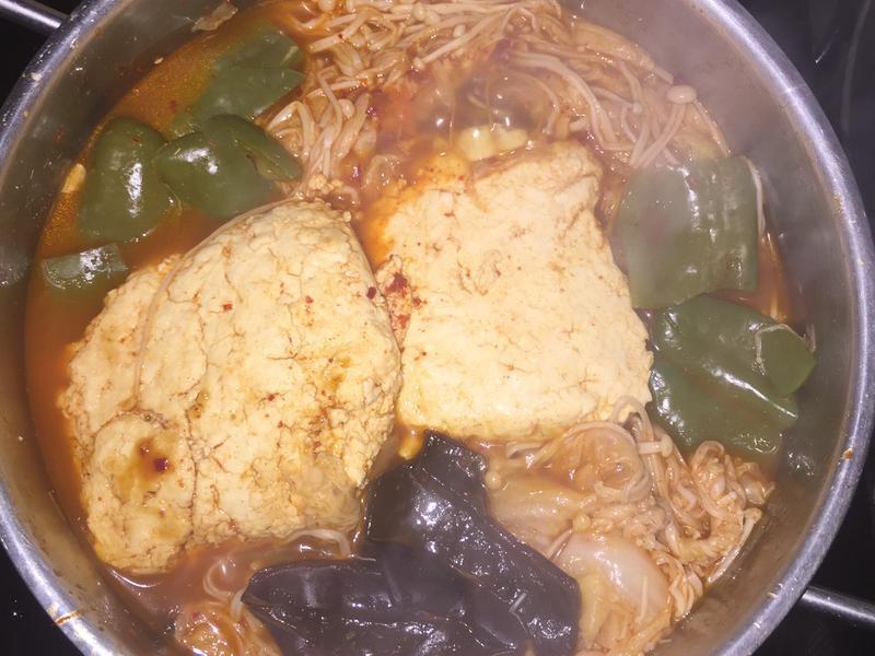 素臭豆腐煲