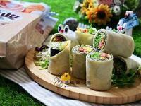 野蔬海苔捲餅【麥典麵包專用粉】