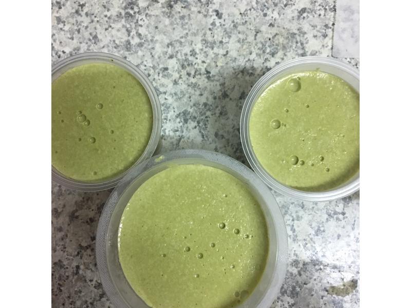 牛奶抹茶豆腐凍