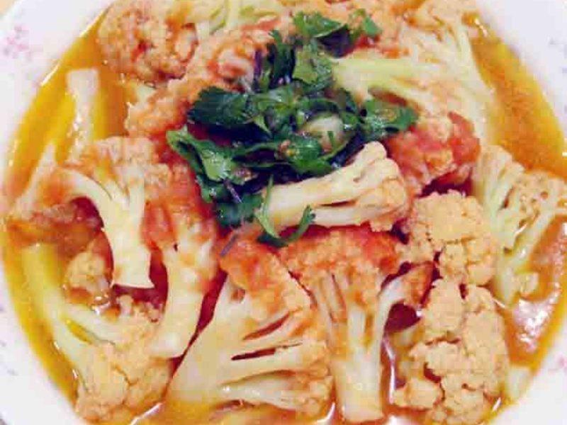 【厚生廚房】番茄炒白花椰