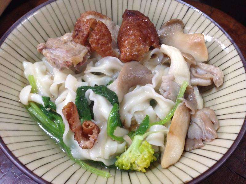 什錦湯煨麵