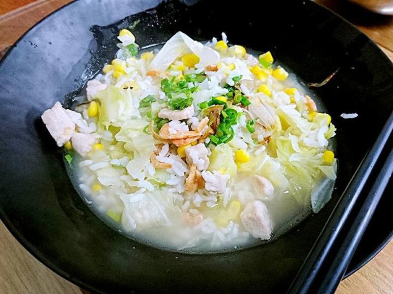 高麗菜鮮粥