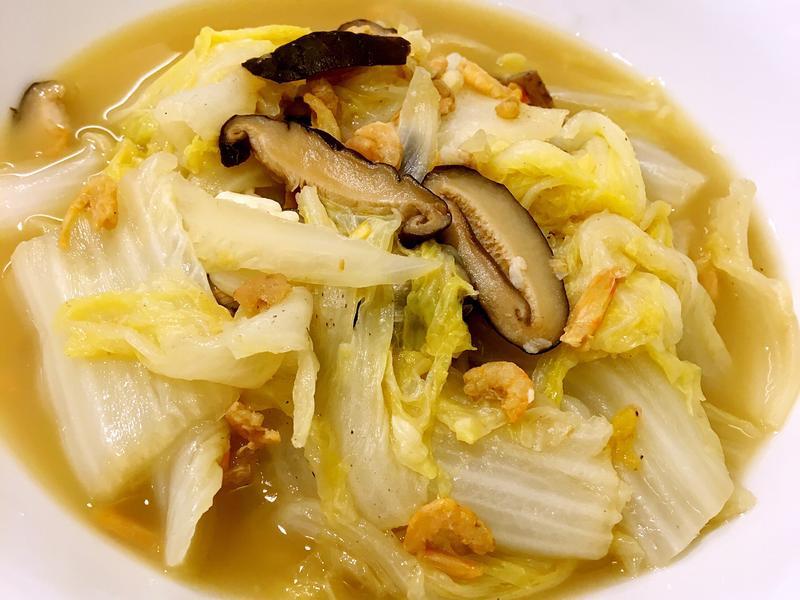 簡單美味的開陽白菜✨