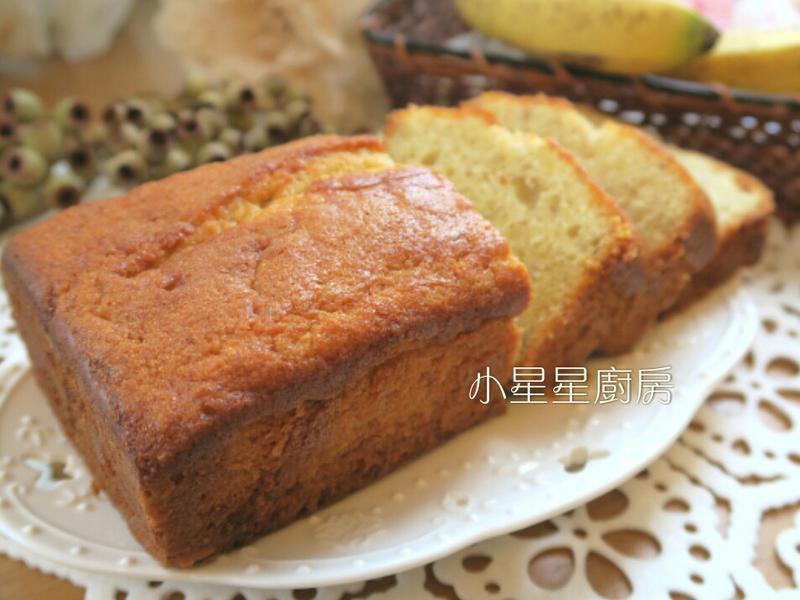 香蕉蜂蜜磅蛋糕