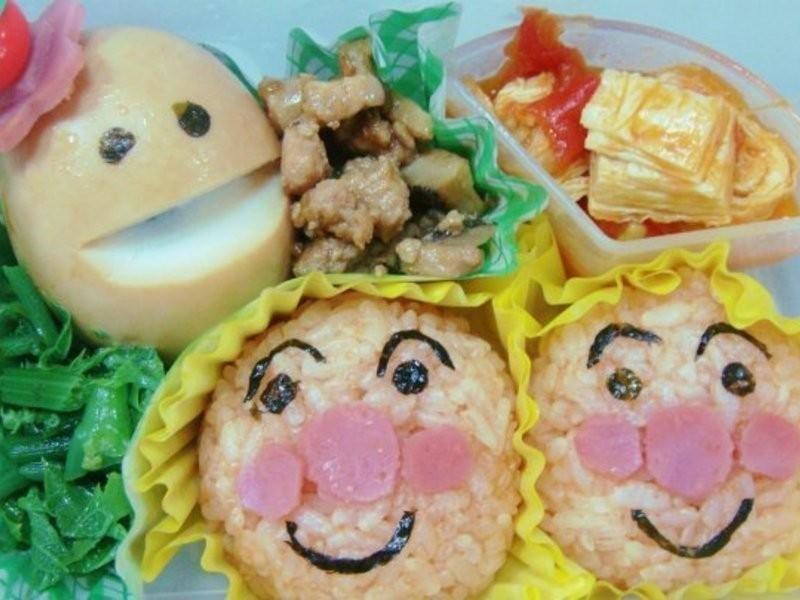 [ 親子食堂 ] 麵包超人飯糰