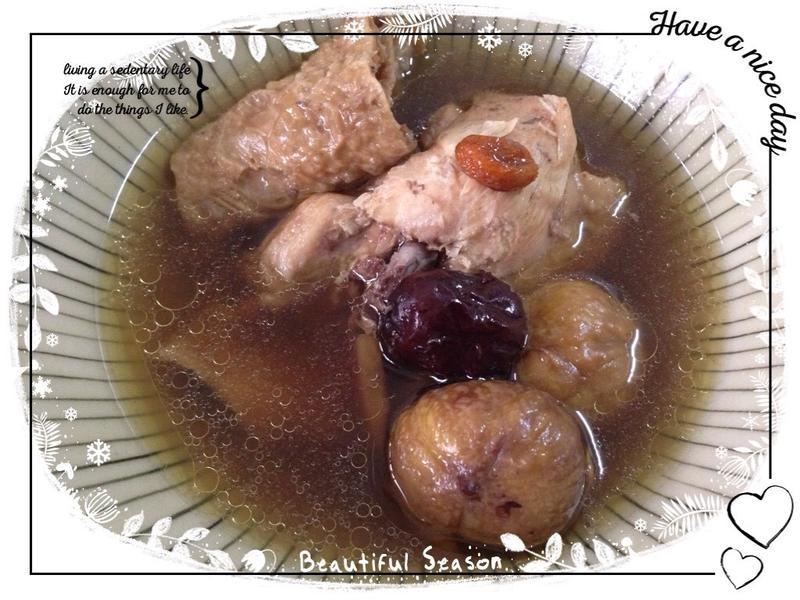 藥膳栗子雞湯(做月子)